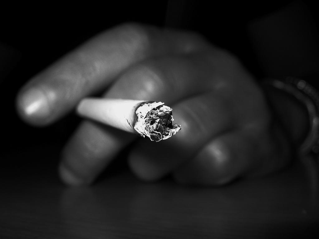 occhio secco e fumo