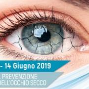 Campagna Nazionale di Prevezione e Diagnosi dell'Occhio Secco 2019